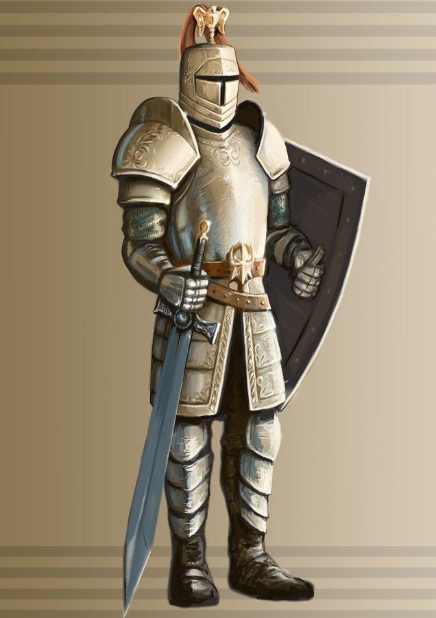 Картинки средневековья рыцари, радость