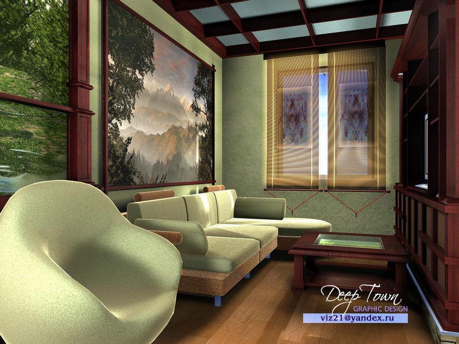 Маленькая комнаты отдыха дизайн
