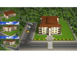 Визуализация проекта 2008 год