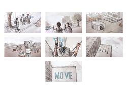 Adidas Originals Graffiti / Storyboard