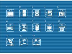 Иконки для сайта по ремонту техники