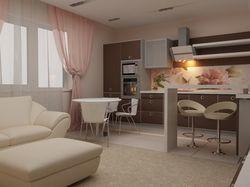 Кухня-гостиная, квартира