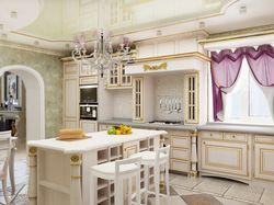 Кухня. Коттедж.