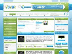 Дизайн сайта iuCoz.Ru