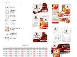 Иконки главной и внутренних страниц