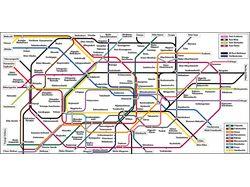 Токио схема метро