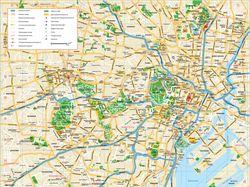 Токио карта города