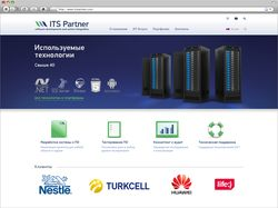 Дизайн-макет сайта компании по разработке ПО