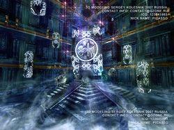 3д арт для игры храм