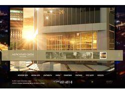 Сайт бизнес-центра в Москве