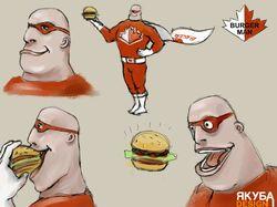 BurgerMan sketch