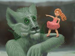 Девочка и монстр