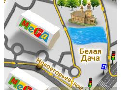 Карта проезда ACTIO