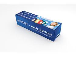 Дизайн упаковки для медицинских шпателей