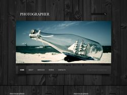 Photographer (вёрстка)