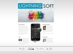 Lightning Soft Main Page