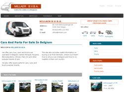 Cars And Parts For Sale In Belgium