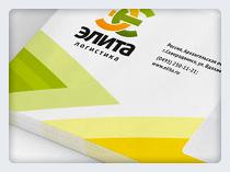 Фирменный Стиль ЭЛИТА – логистическая компания