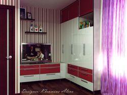 Однокомнатная квартира для молодой девушки