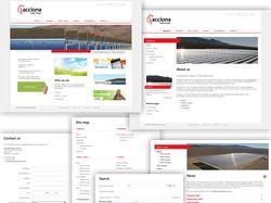 Сайт изготовителя оборуд. для солн. электростанций