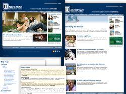 Один из сайтов фонда борьбы с бедностью в США (D6)