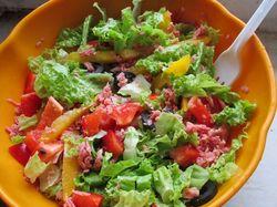 Вкусный салат :)