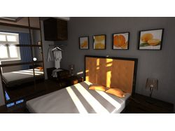 Интерьер спальни 2