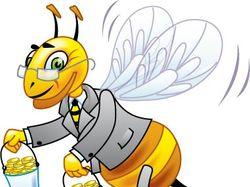 Пчела-бизнесмен