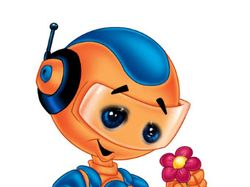Робот мультяшка