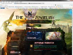 Браузерная онлайн игра RPG The Angelus