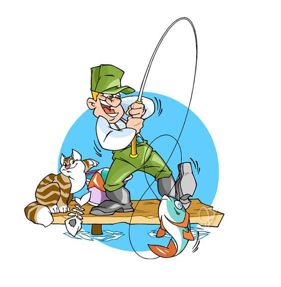 сожалению, фотографий картинки рыбаков с удочками прикольные степной