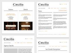 Артистическое агентство «Caecilia»
