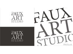 Логотип Faux Art Studio