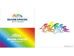 Логотип Залив красок
