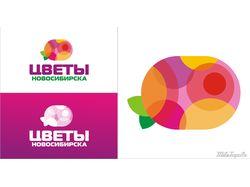 Логотоп Цветы Новосибирска