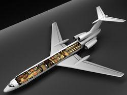 Самолет Ту 154 Vip для компании Aerolink Charter