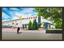 """Торговый центр """"Мегацентр"""" в Чернигове (Украина)"""