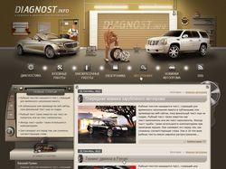 Дизайн автомобильного блога