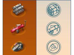 Иконки для сайта «Промэнергоремонта»
