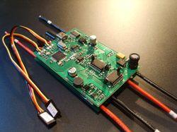 Низковольтный мини электропривод для моделей