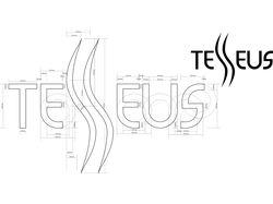 "Разработка логотипа ""TESSEUS"""