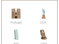 Иконки стран для интернет-магазина eurowine.ru