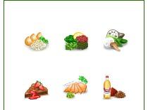 Иконки для интернет-магазина японской кухни