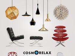 Рекламный модуль в журнал для компании Cosmorelax