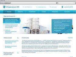 Дизайн сайта Стратегия НК
