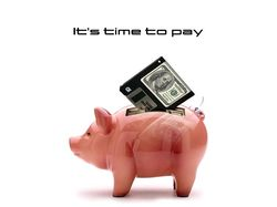 It`s time to pay