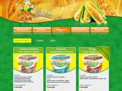 Сайт каталог Кукурузный рай
