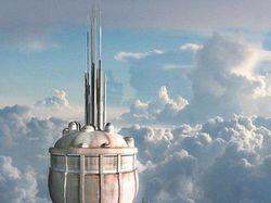 Ттекстура 8kX8k здания для sci-fi сериала