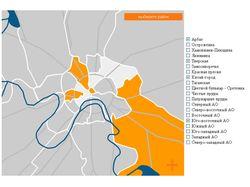 Карта Москвы для сайта