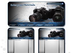 Макет сайта фотостудии